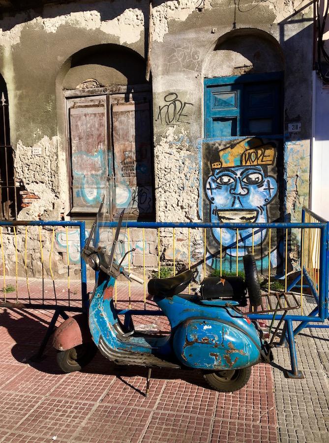 Montevideo, my Blue Solitude 1